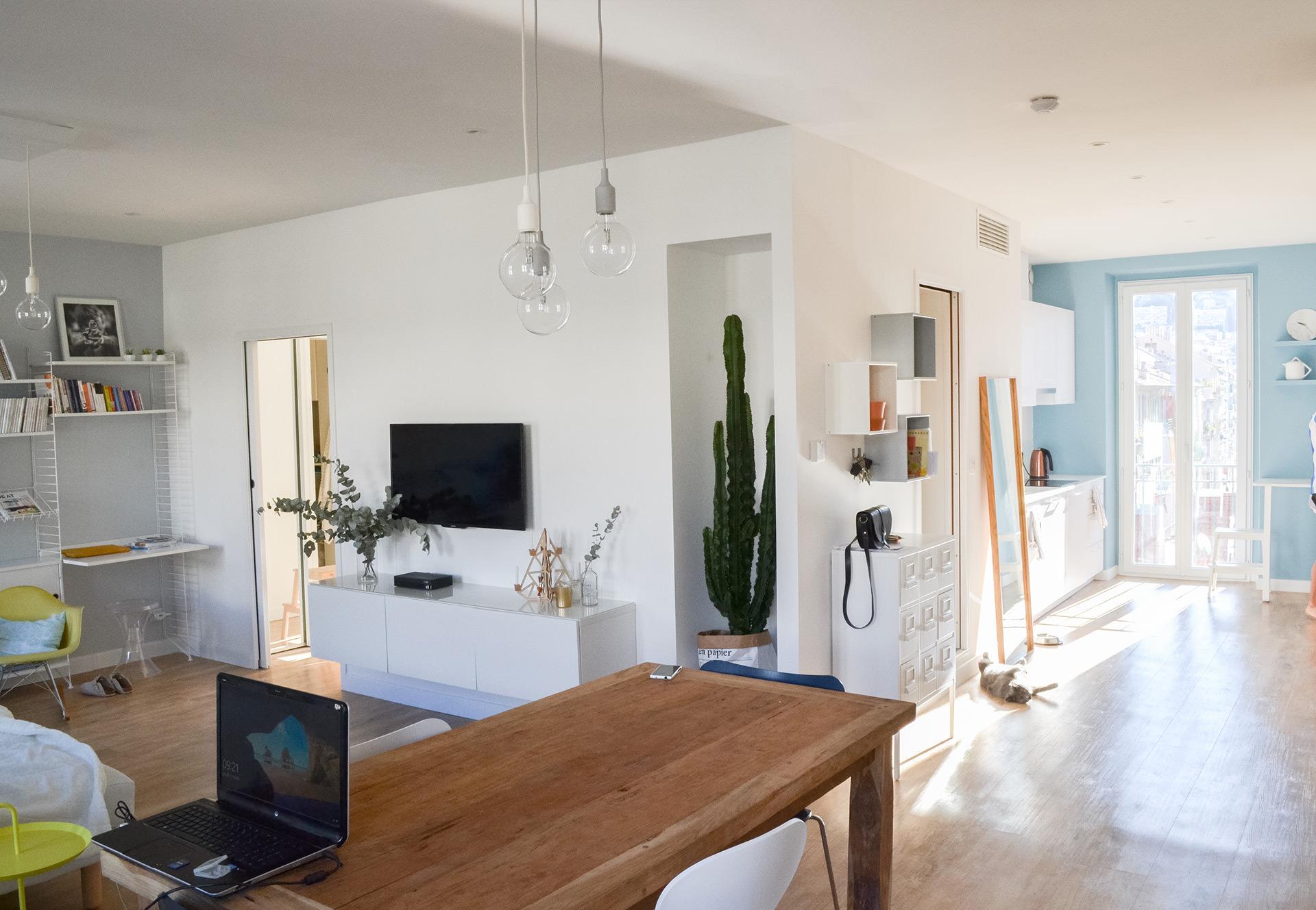 Architecte Appartement Nice Salon