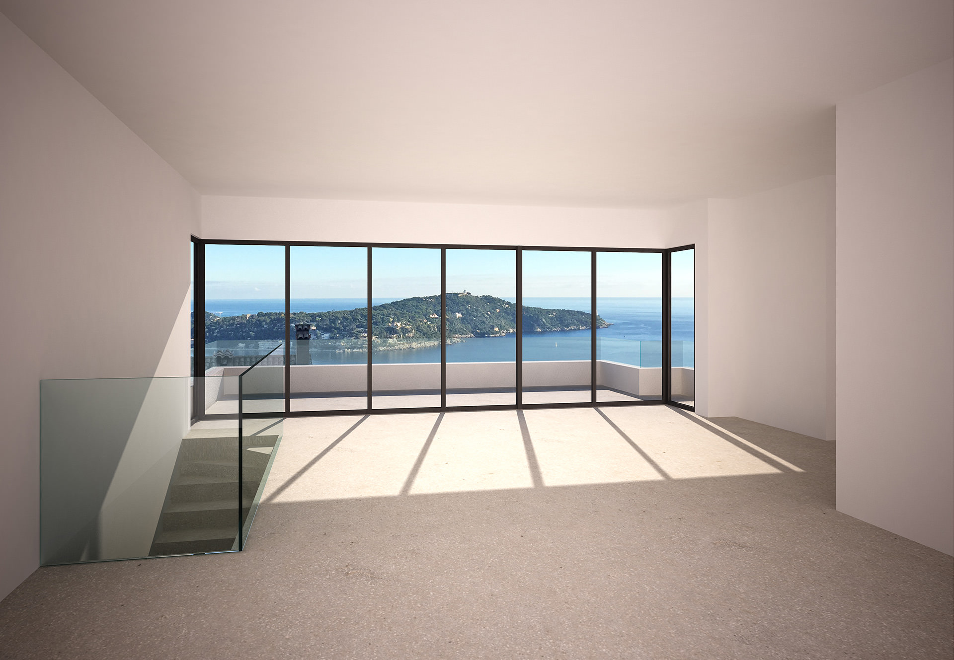 Architecte Appartement Surélévation Villefranche sur Mer