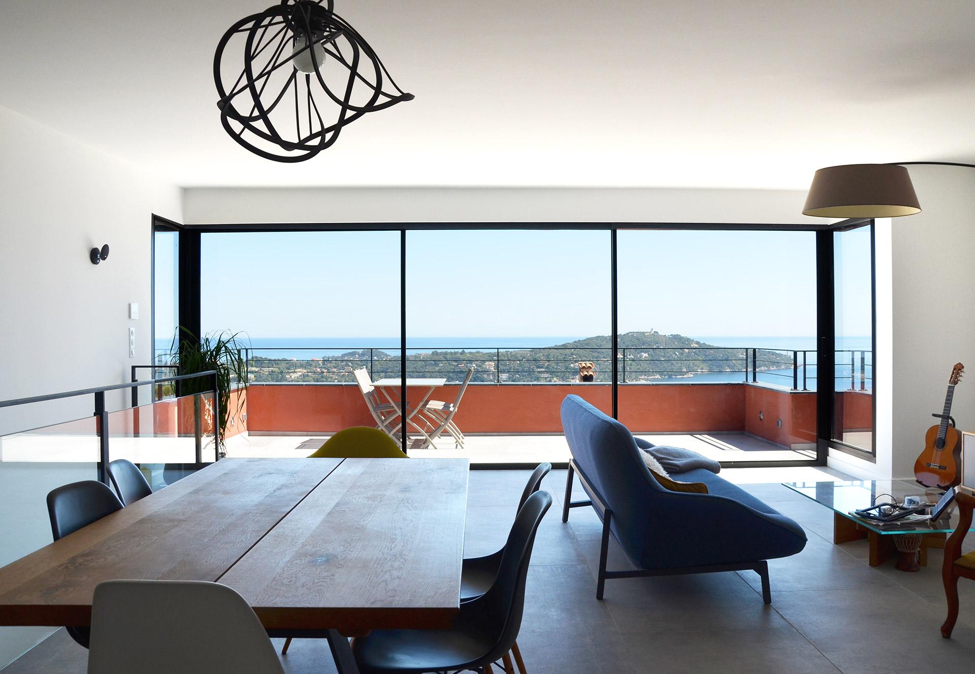 Architecte Appartement Surélévation Villefranche sur Mer